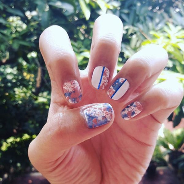 10 Splatter Manis Jackson Pollock Would Totally Approve Of