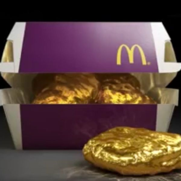 McDonald's Is Giving Away Nuggets Made of Solid Gold