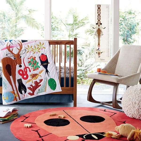 This Charley Harper x Land of Nod Collection Is Perfect for the *Wild* Child