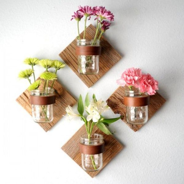 9 Mini Mason Jar Gardens to Help Bring Your Small Living Space to Life