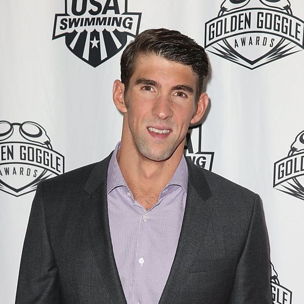 Michael Phelps Cuddling With His 1-Month-Old Son Is Seriously Adorbs