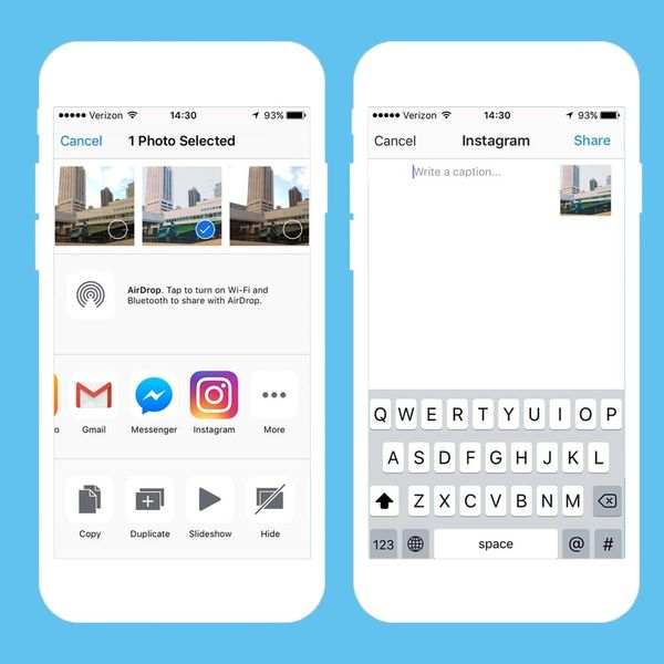 Instagram's New Update Lets iPhone Users Post Directly from Camera Roll