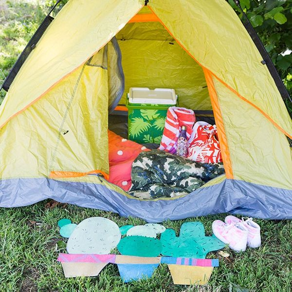 Create This Roll-Up Cactus Mat for Your Summer Camping Trips
