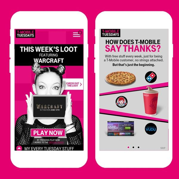 T-Mobile Is Giving Away Free Stuff to Subscribers Every Tuesday (Including Pizza)