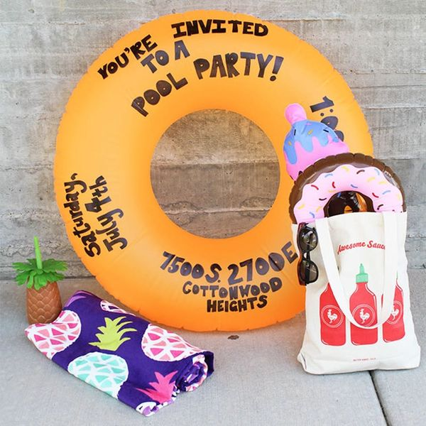 18 Ways to Make Your Kid's Pool Party Epic