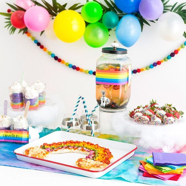 Throw the Ultimate Rainbow Party With These 8 Colorful DIYs