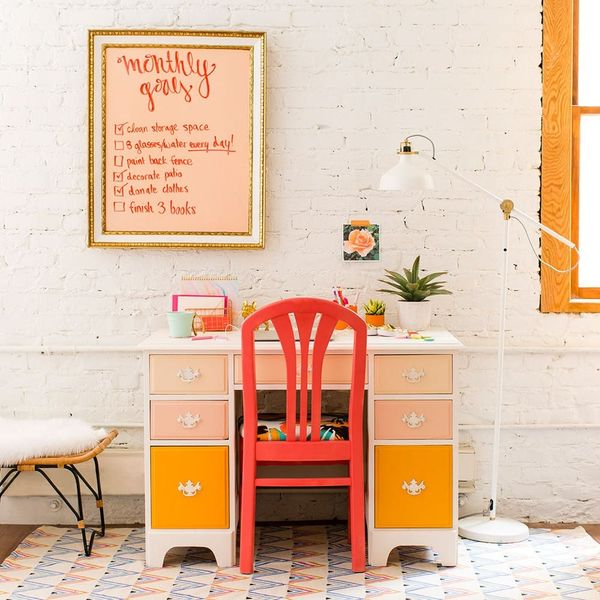 See How an Ombre Paint Job Transformed This Office