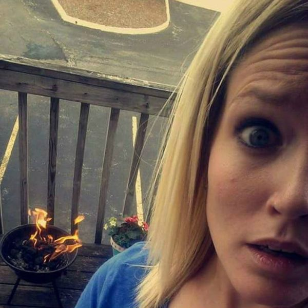 This Woman's DIY Grilling Fail Is All of Us