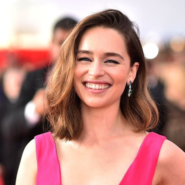 I Used a Sock to Hack Emilia Clarke's Airbrushed Skin… and It Worked