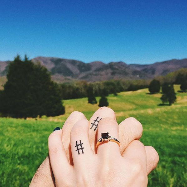 """Say """"I Do"""" to the 18 Most Romantic Wedding Tattoos of All Time"""