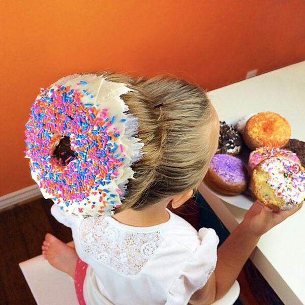 These Adorable Donut 'Dos Are Giving Us Sweetness Overload