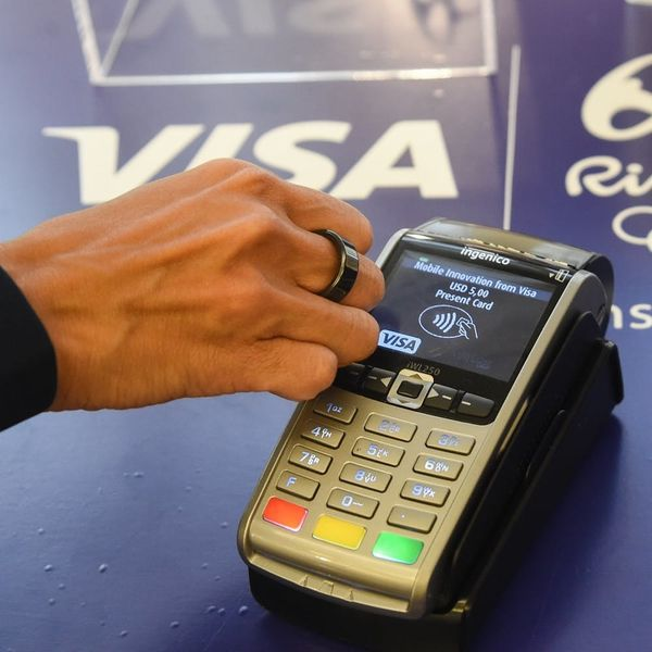 Visa Invented a Ring That Doubles As a Credit Card