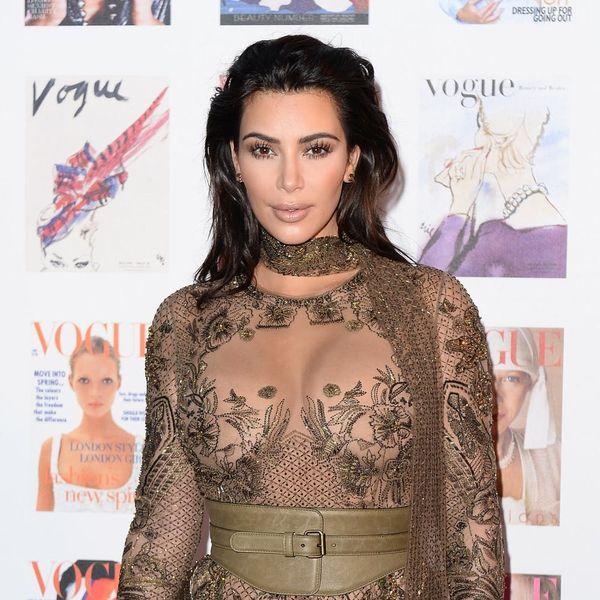 Kim Kardashian's NSFW Bare Bum Pic Just Broke the Internet AGAIN