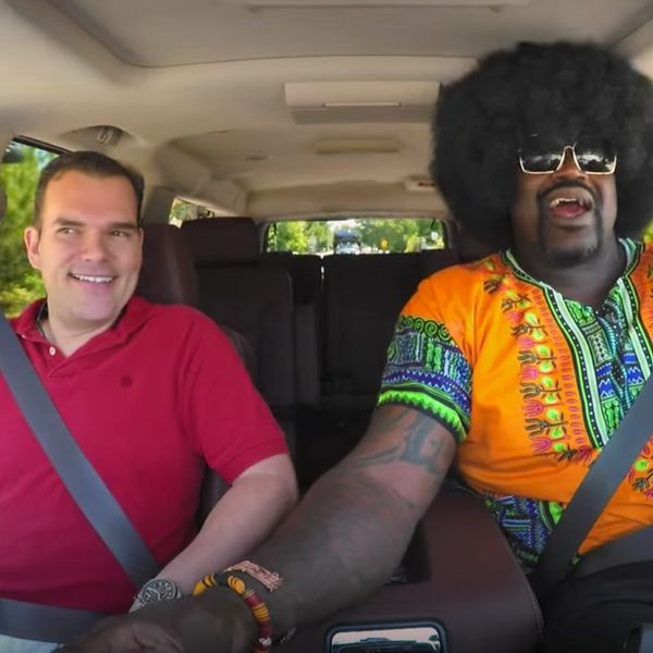 Shaquille O'Neal Went Undercover as a Lyft Driver and It's Hilarious