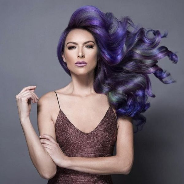 Jewel Tone Is the Stunning Rainbow Hair Trend for Brunettes