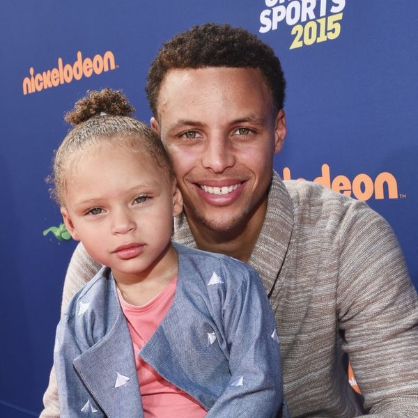 Riley Curry's Reaction to Her Dad Steph Curry's Post-Game Kiss Will Make You Giggle