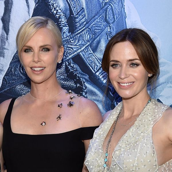 Charlize Theron Just Threw Emily Blunt a Super Sweet Baby Shower