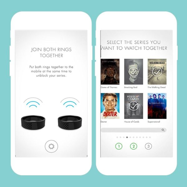 These Commitment Rings Will Make Sure Your Netflix Partner Never Cheats on You Again