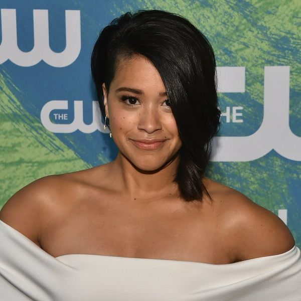 This Teen Slayed at Prom in Gina Rodriguez's Golden Globes Dress