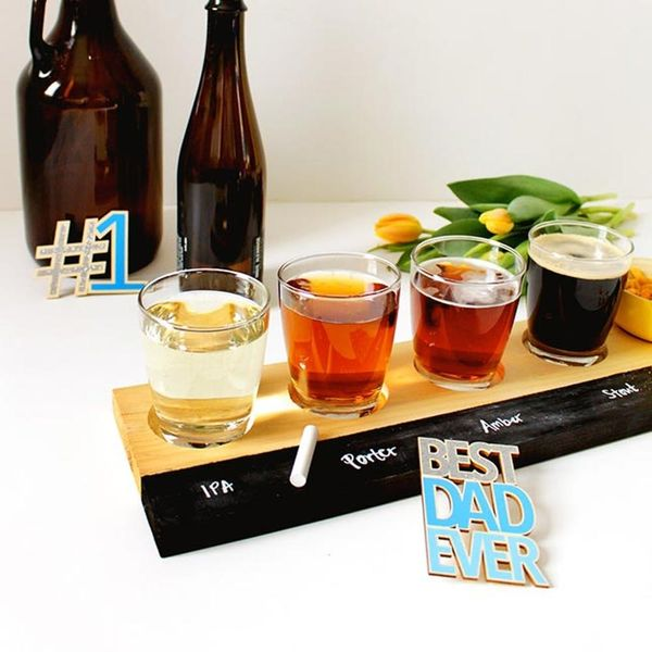 Make Dad a Beer-Tasting Flight Tray for Father's Day