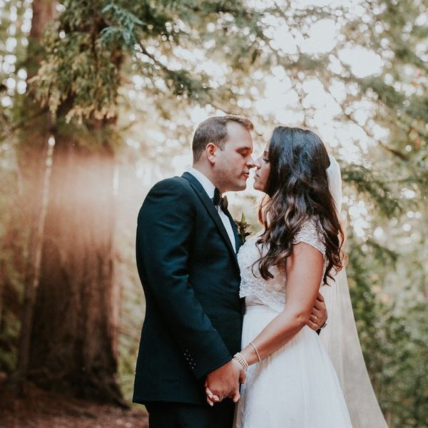 This Woodland-Chic Wedding Is Straight Out of a Fairy Tale