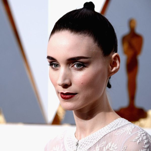 You Have to See Rooney Mara's Platinum Hair to Believe It