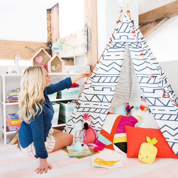 Emily Henderson + Pillowfort = The Cutest Kids Playroom Ever