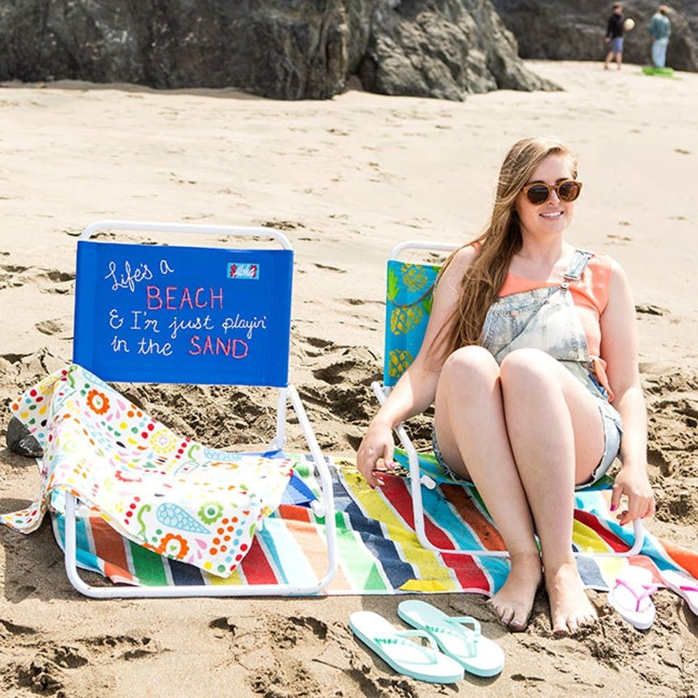Upgrade Your Beach Chairs With These Three Hacks Brit Co