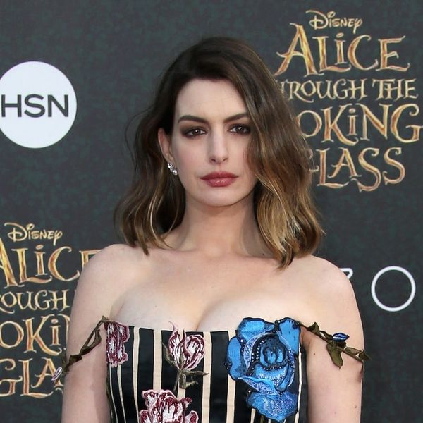 Watch As Anne Hathaway Destroys James Corden in an Epic Rap Battle