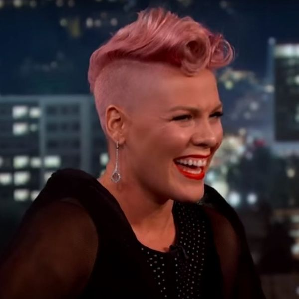 Pink Proves Even Celebs Get Starstruck When They Meet Their A-List Crushes