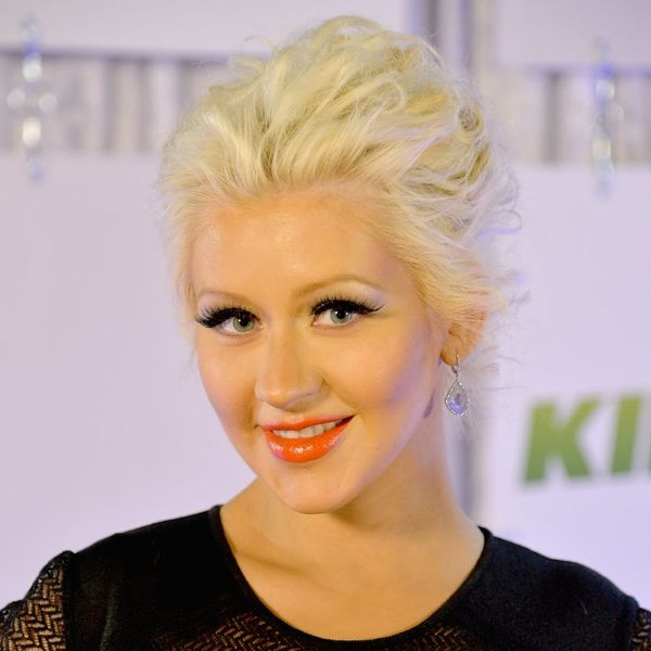 Christina Aguilera's Latest Hairstyle Is Fabulously Floral