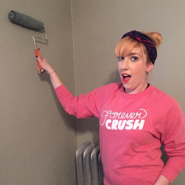 The 9 Emotional Stages of Painting Your First Apartment