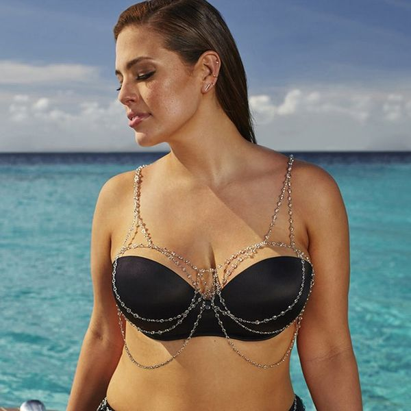 Ashley Graham's New Swimsuit Collection Is a Curvy Girl's Dream Come True