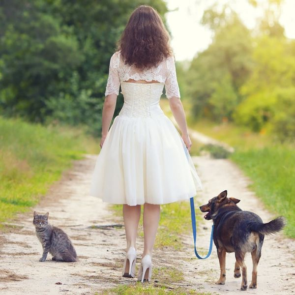 This Couple Traveled 3,000 Miles to Get Married at a Cat Sanctuary