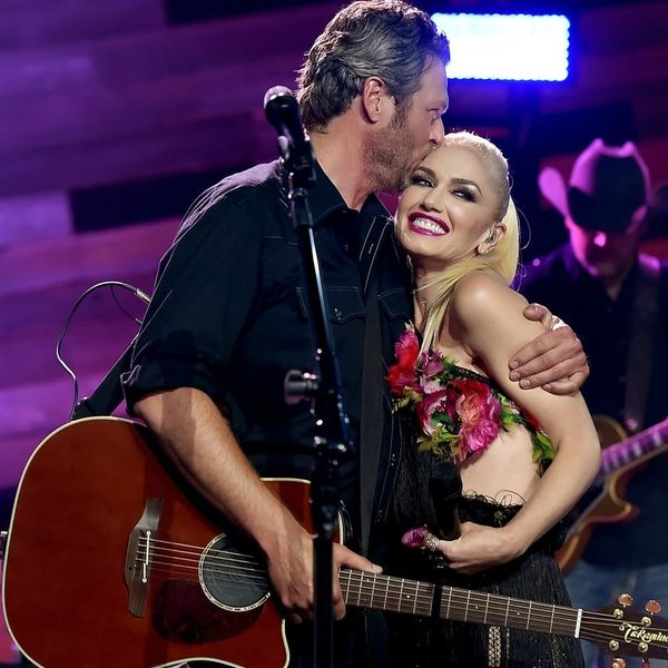 Gwen and Blake's Super Cute Billboard Duet Makes Us Think There Might Be an Engagement on the Way