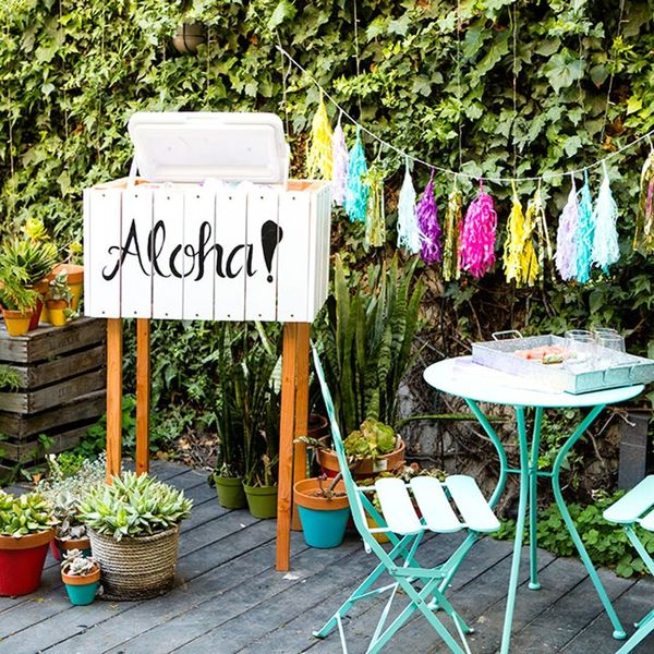 Build This Cooler Box for Your Backyard Patio