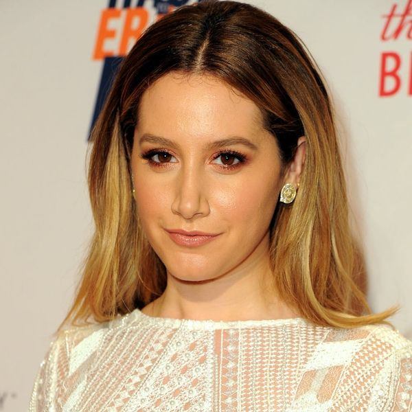 Ashley Tisdale's New Rose Gold Unicorn Hair Is Magical AF