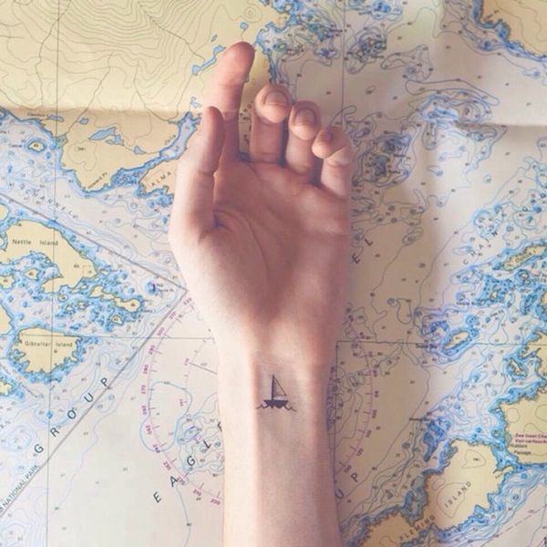 13 Wanderlust Tattoos That Are Better Than Souvenirs