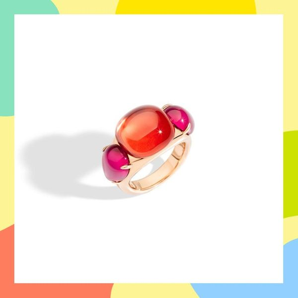 17 Radiant Rainbow Engagement Rings for the Modern Bride