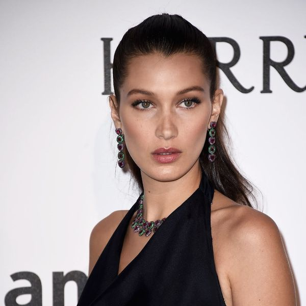 Here Is the Reason Why Bella Hadid's Red Cannes Dress Looked So Familiar