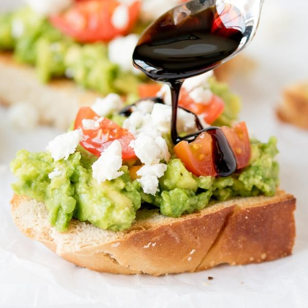 Avocado Toasts Plus the Simplest Balsamic Dressing Hack