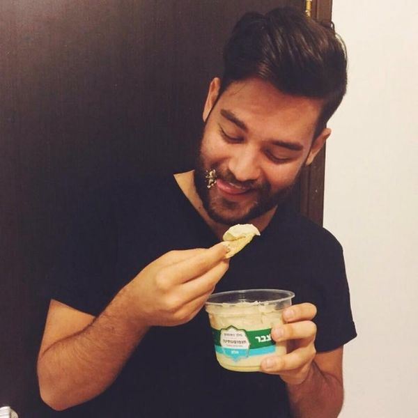 You Need to See This Hot Dudes + Hummus Instagram Account for Hummus Day