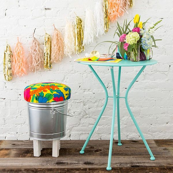 Glam Up Your She Shed With This Stool Hack