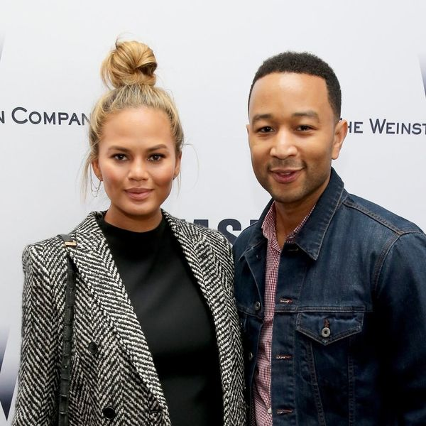 """Chrissy Teigen's """"Burpface"""" Baby Pic Is the Cutest Thing You'll See Today"""