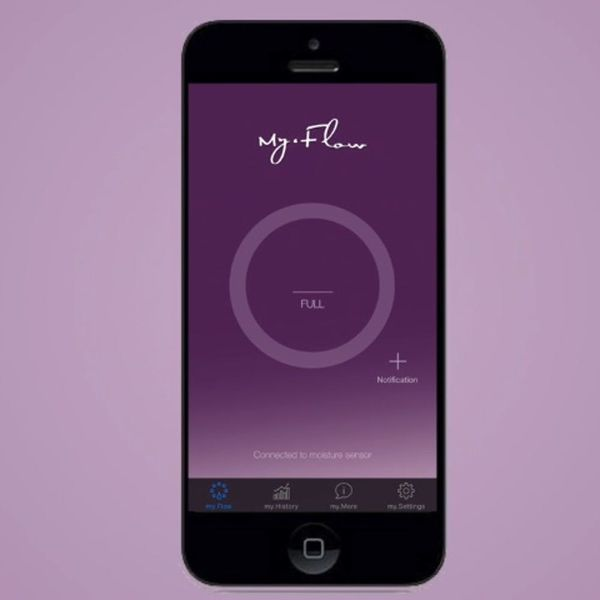 This Bluetooth-Enabled Tampon Ensures You'll Never Bleed Through Your White Pants