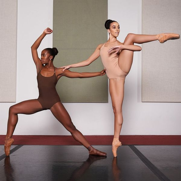 This Apparel Company FINALLY Offers Nude Leotards for Women of Color
