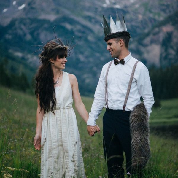 This Where the Wild Things Are Wedding Is Seriously Magical