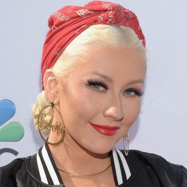 Christina Aguilera's Sleek New Bob Is SO '90s Chic