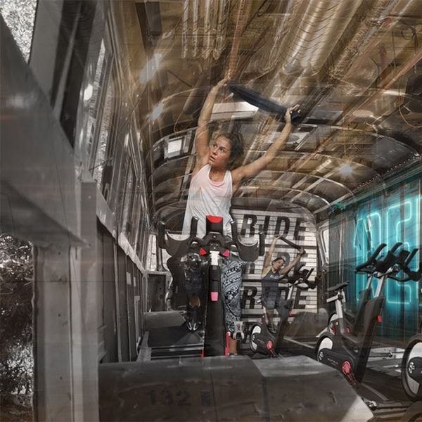 This Bus Wants to Transform Your Daily Commute into a Spin Class