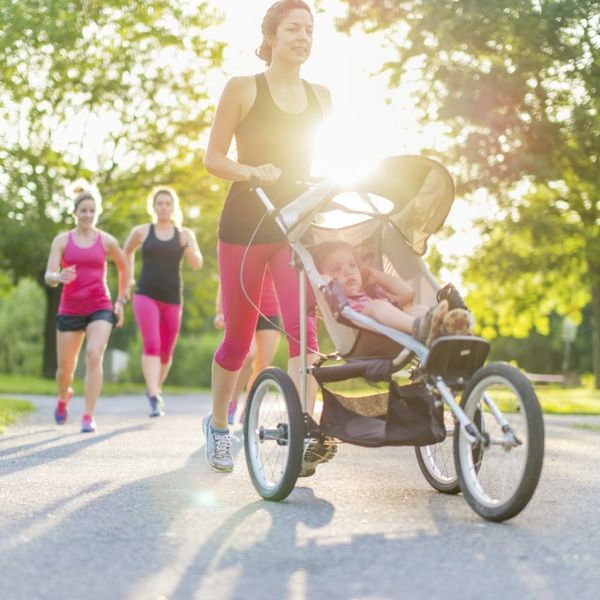 All the Dos and Don'ts of Jogging With a Baby